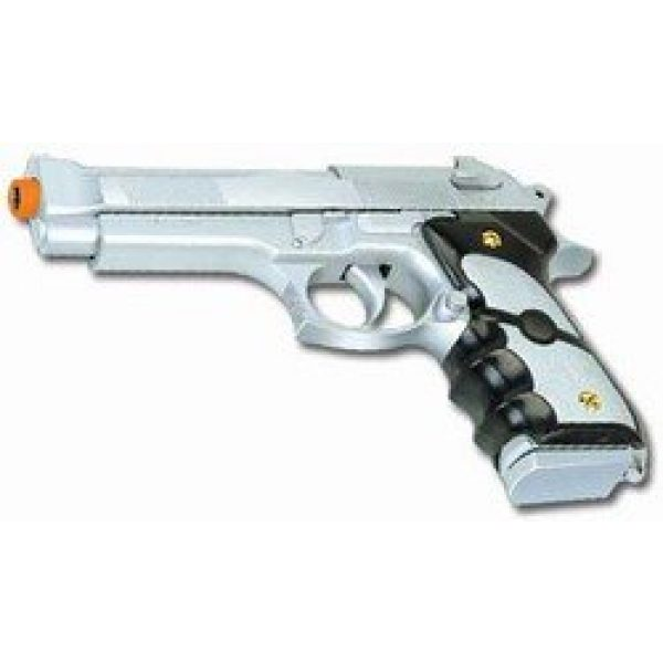 UKARMS Airsoft Pistol 2 silver airsoft spring pistol m757s 1/1 full scale 200 fps(Airsoft Gun)