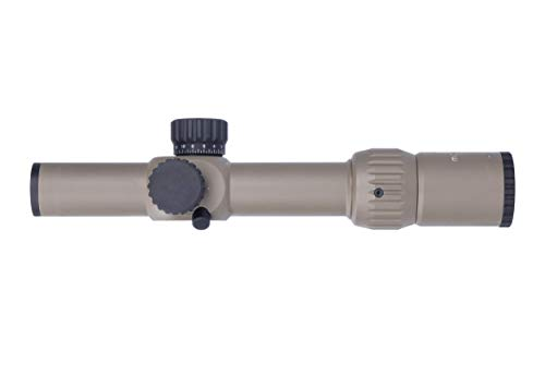 Monstrum Rifle Scope 4 Monstrum G3 1-6x24 First Focal Plane FFP Rifle Scope with Illuminated MOA Reticle