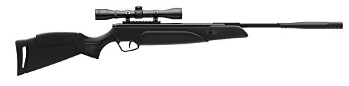 Stoeger Air Rifle 1 Stoeger Black Synthetic Monte Carlo-Style Stock and 4 x 32 Scope. 177 Cal./ 1200 FPS