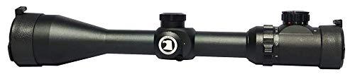 Osprey Global Rifle Scope 3 Osprey Global 10-40x50 Illuminated Mil-Dot Glass Reticle 30mm-Tube TA Riflescope, Matte Black (10-40x 50mm)