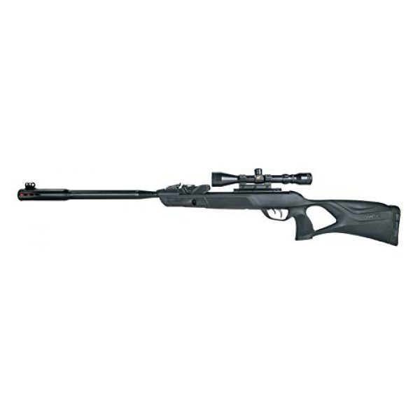 Gamo Air Rifle 2 Gamo 611006335554 Swarm Fusion 10X GEN2 Air Rifle, .22 Caliber,Black