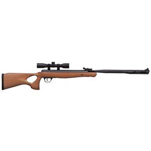 Crosman Air Rifle 1 Crosman CVH22RDNS-WX .22-Caliber Valiant Wood Nitro Piston Elite Powered Break Barrel Air Rifle With 4 x 32mm Scope
