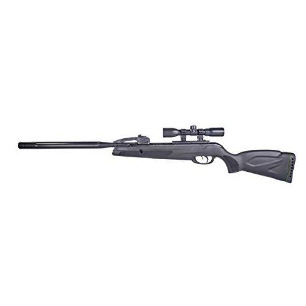 Gamo Air Rifle 2 Gamo 611006875554 Swarm Whisper Air Rifle, .22 Caliber,Black