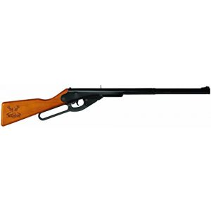 Buck Air Rifle 1 Buck Lever Action Rifle 400-Shot Hardwood Stock 350 fps