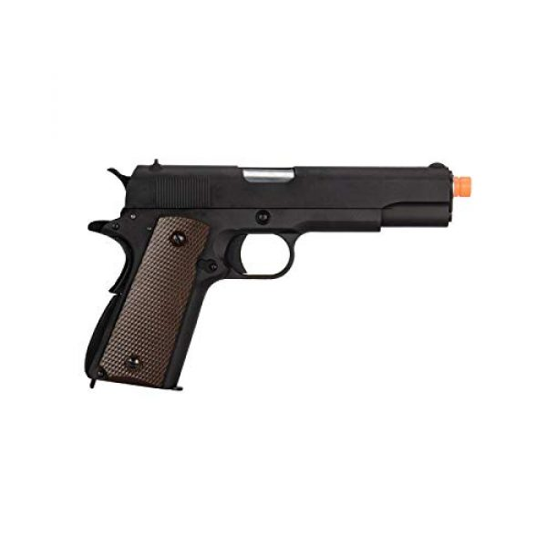 WE Airsoft Pistol 2 WE Tech M1911 Metal GBB Airsoft Pistol CO2 Version Black