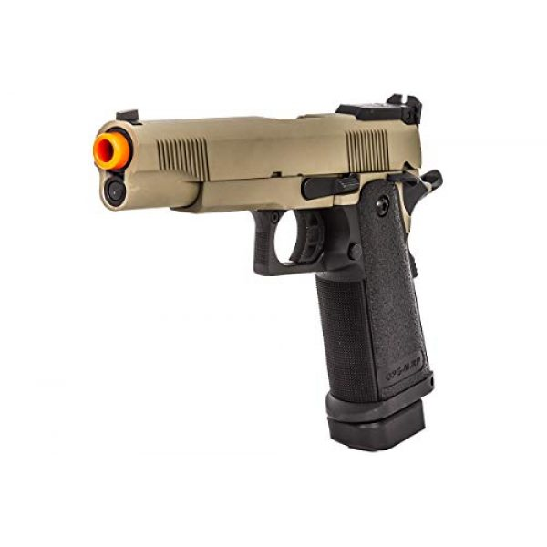 Jag Arms Airsoft Pistol 1 JAG Arms GM5 Gas Blow Back Airsoft Pistol (Tan/Black)