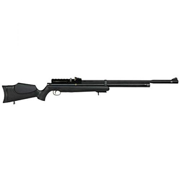 Wearable4U Air Rifle 3 Hatsan AT44S10 Long QE Open Sight Air Rifle with Included Wearable4U 100x Paper Targets and Lead Pellets Bundle