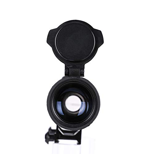 Letra Rifle Scope 6 LETRA Rifle Scope 3-9x40 Duplex Crosshair R4 Reticle with 20mm Free Mounts