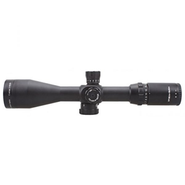 Vector Optics Rifle Scope 2 Vector Optics Everest 3-18x50mm Gen II 1/4 MOA Tactical Riflescope with Long Eye Rilief, Free 30mm Mount Rings, Free Honeycomb Sunshade and Free Flip-up Lens Cover (Matte Black)