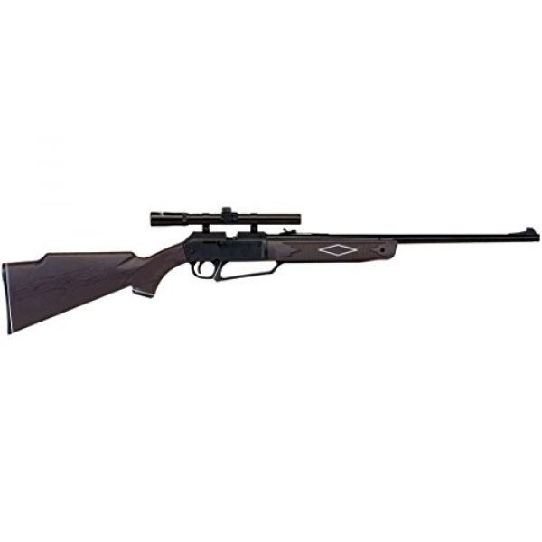 Daisy Air Rifle 1 Daisy Outdoor Products 992880-603 880 Rifle with Scope, Brown.177 Caliber