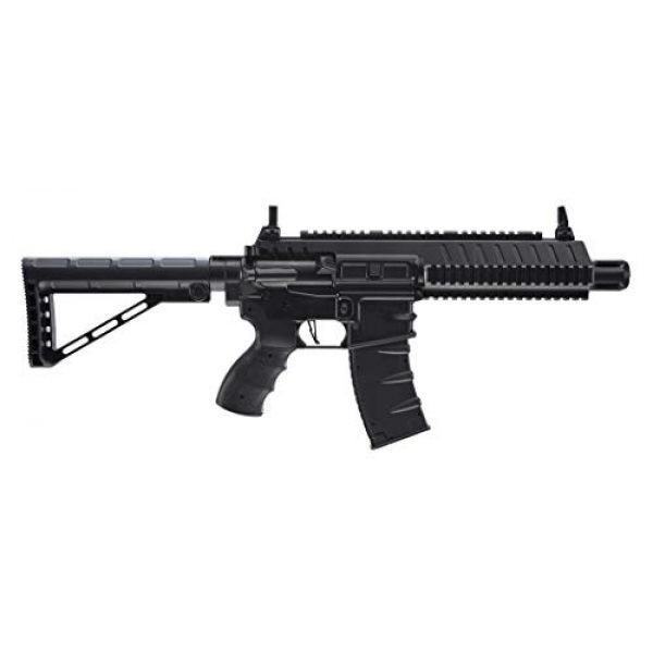 Umarex Air Rifle 4 Umarex Steel-Strike Automatic .177 Caliber BB Gun Air Rifle, Steel-Strike Air Rifle, Black (2252120)