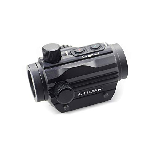 ZHRLQ Rifle Scope 4 ZHRLQ Internal Red Dot Sight, High Magnification Bird-Free Mirror with No Magnification, High Shock-Resistant Waterproof Silver-Plated Film