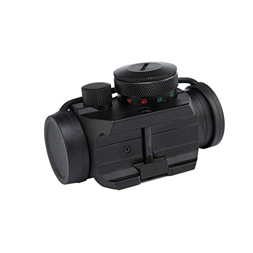DJym Rifle Scope 2 DJym Blue Film 1X Sight, High-Definition Red Dot Sight, Shockproof and Anti-Fog, Waterproof Fast Sight