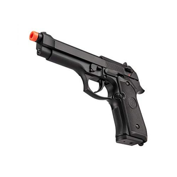 Lancer Tactical Airsoft Pistol 5 Lancer Tactical Double Bell M92 U.S. Army Gas Blowback Airsoft Pistol Black 300 FPS