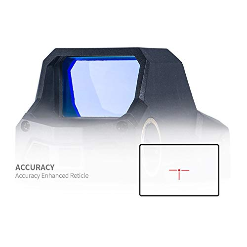 UELEGANS Rifle Scope 5 UELEGANS Red Dot Sight Scope, Rechargeable USB Holographic Optical Sight, 20Mm Reflex Sight for Rail Mounting, Suitable for Outdoor Hunting