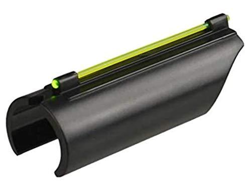 Ultimate Arms Gear Rifle Sight 1 Ultimate Arms Gear 12/20 Gauge/Shotgun Glowing Green Line Plain Barrel Front Fiber Optic Sight Saiga Pump Action Sporter
