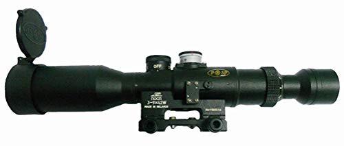 Kalinka Optics Rifle Scope 1 Kalinka Optics POSP 3-9x42 1000m Rangefinder, Weaver