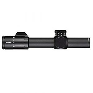 MINOX Rifle Scope 1 Minox 66590 ZP8 TAC Scope with MR10+ Reticle, 1-8 x 24