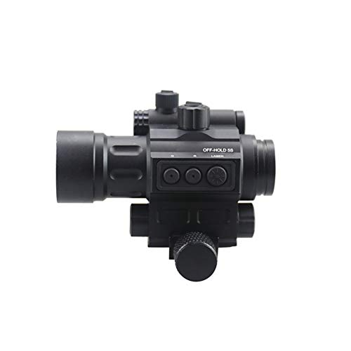 DJym Rifle Scope 7 DJym Advanced Button Red Dot Sight, 1X Waterproof and Anti-Fog Rifle Scope