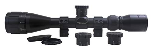Gamo Rifle Scope 2 Gamo 270-39X40AOWRTB Sweet 270 AO 3X-9X 40mm Rifle Scope, Multi