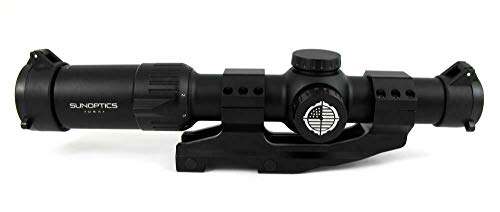 Sun Optics USA Rifle Scope 2 Sun Optics Mantis 30MM 1-6X24 Illuminated BDC Reticle w/ Mount