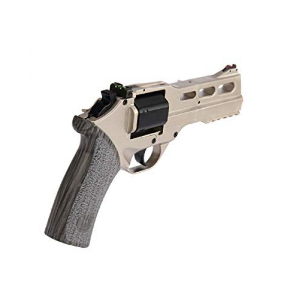 Lancer Tactical Airsoft Pistol 3 Lancer Tactical Limited Edition Airsoft Pistol Chiappa Rhino 50DS CO2 Revolver Silver 328 FPS