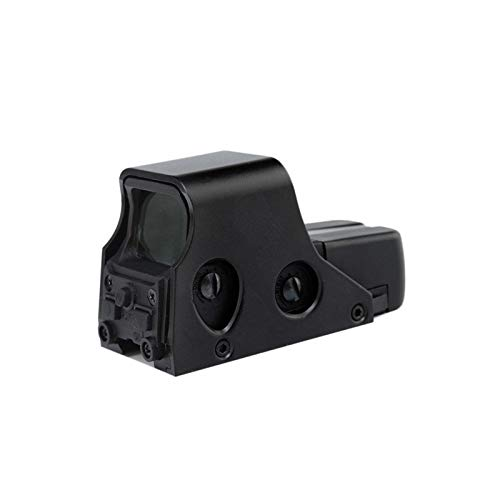 Without Rifle Scope 1 Toy Gun Sight Red dot Sight Magnification Hunting Mirror 22mm Tactical Optical Accessories Green Red Dot Scope Holographic Collimator Reflex 4 Scope (Color : Black)