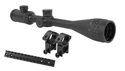 M1Surplus Rifle Scope 1 M1SURPLUS Present A 10-40x50 Illuminated AO Rifle Scope w/Mount Fits Short Action Remington 700 78 40XS 722 725 Rifles