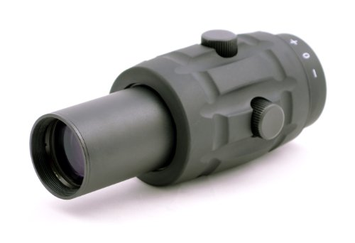 Hammers Rifle Scope 1 Hammers 30mm Tube 3X Magnifier Scope for Red Dot Reflex Sight
