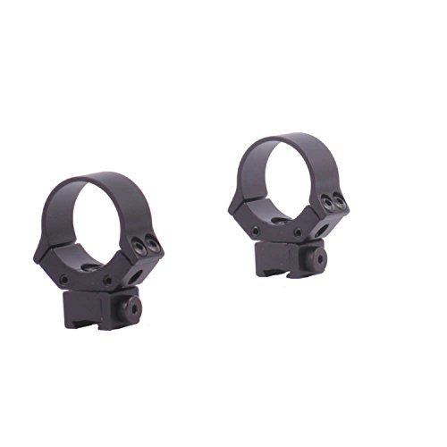 Sun Optics USA Rifle Scope 1 Sun Optics USA Standard Dovetail Sport Ring, Medium (30 mm, Matte Black)