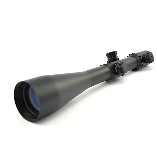 TOTEN Rifle Scope 5 TOTEN Rifle Scope 10-40X56T Gun Scope with 11 mm Dovetail Mounting Rings for Viewing