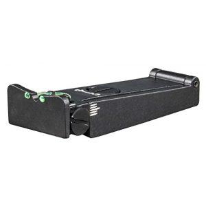 FUSION Rifle Sight 1 FUSION Rifle/Shotgun/Muzzle-Loader Rear Sight - Adjustable Fiber Optic TA21F