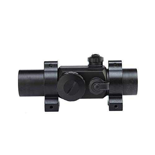 DJym Rifle Scope 4 DJym Non-Magnification Speed Sight Mirror HD Red Dot Aiming Blue Film Shockproof Waterproof Inner Red Dot Sight