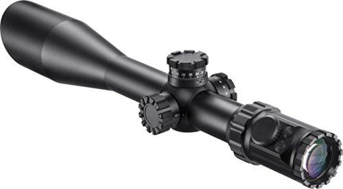 BARSKA Rifle Scope 1 Barska AC12140 Long Range Rifle Scope 6-36x52 Red/Green Illuminated Mil-Dot Reticle with Cantilever Ring