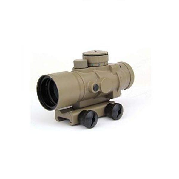 GOTICAL Rifle Scope 2 GOTICAL 3X30 Tri-Illuminated Ultra Compact Prism Riflescope Rifle Scope