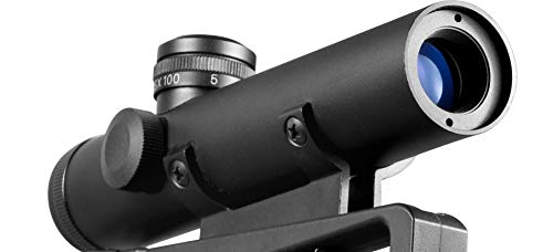 BARSKA Rifle Scope 1 Barska 4x20 Electro Sight Carry Handle Scope Mil Dot Reticle (AC11608)