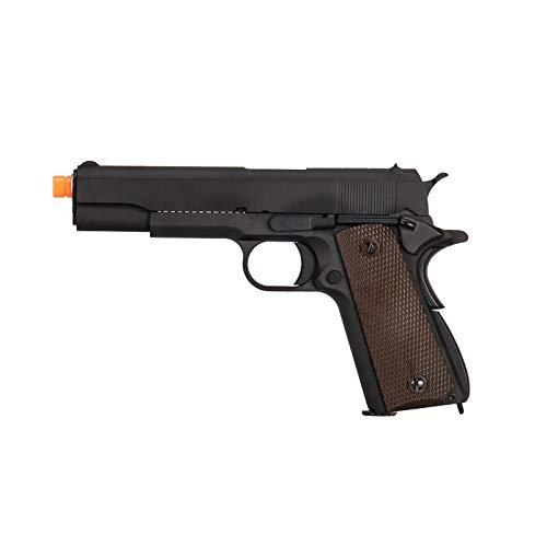WE Airsoft Pistol 1 WE Tech M1911 Metal GBB Airsoft Pistol CO2 Version Black