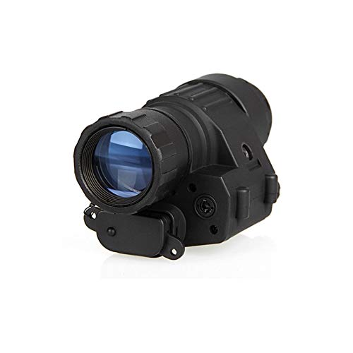 Without Rifle Scope 2 Toy Gun Sight Red dot Sight Magnification Hunting Night Vision Goggles New PVS-14 Digital Night Vision Goggles Shooting Telescope CL27-0008 (Color : Black)