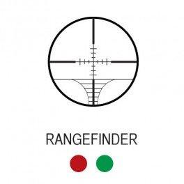 Aim Sports Rifle Scope 2 Aim Sports XPF Series 6-24x50 Dual- ILL Rangefinder Rifle Scope w/ Side Parallax & Left Turrets