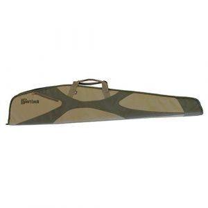 "Birchwood Casey Airsoft Gun Case 1 Birchwood Casey 44"" Rifle Single Scoped - Khaki/Dark Grey"