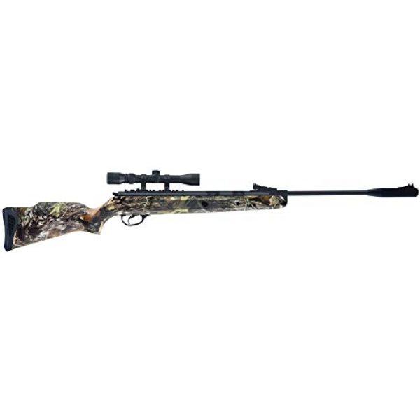 Wearable4U Air Rifle 6 Hatsan Mod 125 Spring Camo Combo Air Rifle with Wearable4U Paper Targets and Lead Pellets Bundle