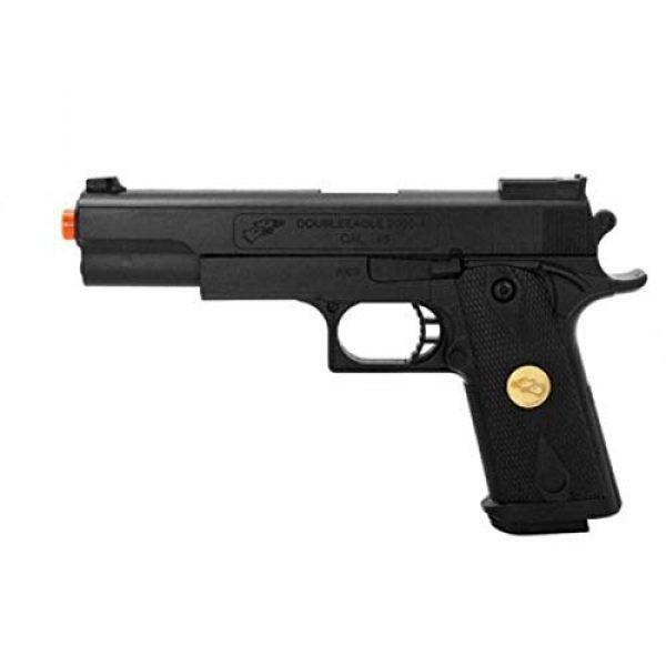 Double Eagle Airsoft Pistol 1 Double Eagle P169 Spring Pistol 220-Fps Airsoft Gun, Black