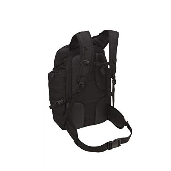 SOG Specialty Knives Tactical Backpack 3 SOG Barrage Tactical Internal Frame Backpack, 64.3-Liter Storage, Black