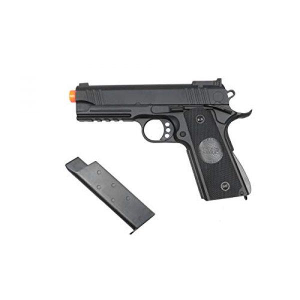 JG Airsoft Pistol 5 JG / Golden Eagle 3022 Full Metal 4.3 Hi-Capa 1911 RIS Airsoft Spring Pistol