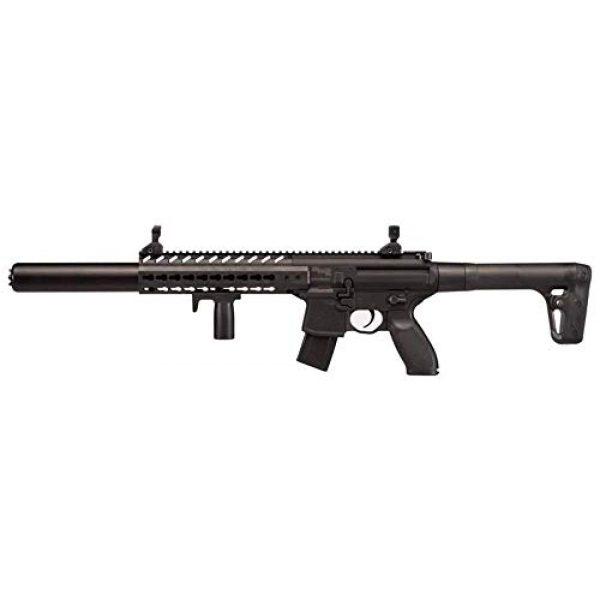Sig Sauer Air Rifle 5 Sig Sauer MCX .177 Cal Co2 Powered (30 Rounds) Air Rifle, Black, 18 inches