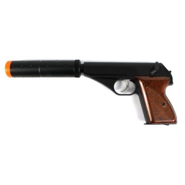 Velocity Airsoft Airsoft Pistol 1 HFC 106 gas airsoft pistol green gas semi auto fps-250 (black)(Airsoft Gun)