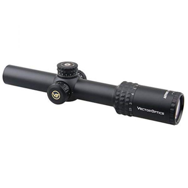 Vector Optics Rifle Scope 2 Vector Optics Aston 1-6x24mm, 1/2 MOA, Red Illuminated,30mm Tube Second Focal Plane (SFP) Rifle Scope