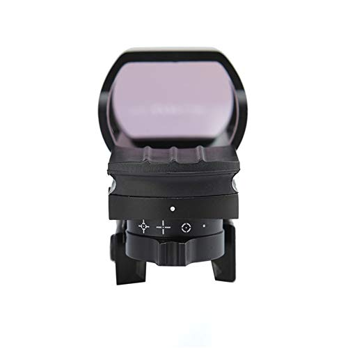 DJym Rifle Scope 1 DJym Red Dot Reflex Sight- Reflex Sight Optic and Substitute for Holographic Red Dot Sights