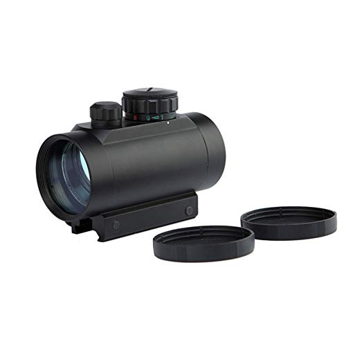 DJym Rifle Scope 3 DJym Tactical 1x40mm Red Dot Sight for Rifle Carbine Shootgun Gun Hunting Outdoor Sports