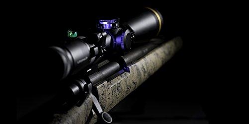 IOTA Rifle Scope 5 IOTA Anti-Cant Scope Level with LED Turret and Bubble Illumination - 30mm, 34mm, 1 inch - ZEROLIGHT Scope Ring Outdoors